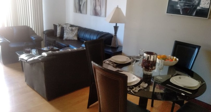 F 1416 Furnished 3 bedroom condominium in comfortable building in Bello Horizonte with Gym, Pool, Playgrond