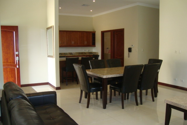 F 2155 A spacious Town house Furnished in the Valle Arriba complex, just 800 meters from the shopping area of San Rafael de Escazu 401