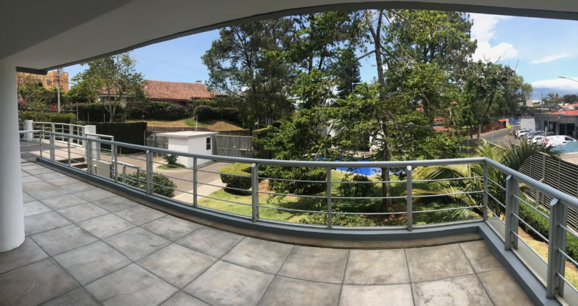 R 2849 First floor 3 berdroom apartment  with great terrace in a fabulous building in Escazu