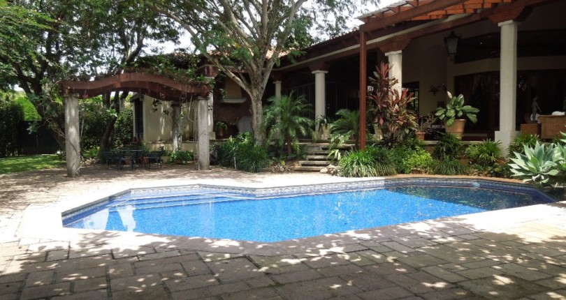 C 1553 Luxury Home with private pool one of the most prestigious and safe neighborhoods in Costa Rica Bosques de Lindora
