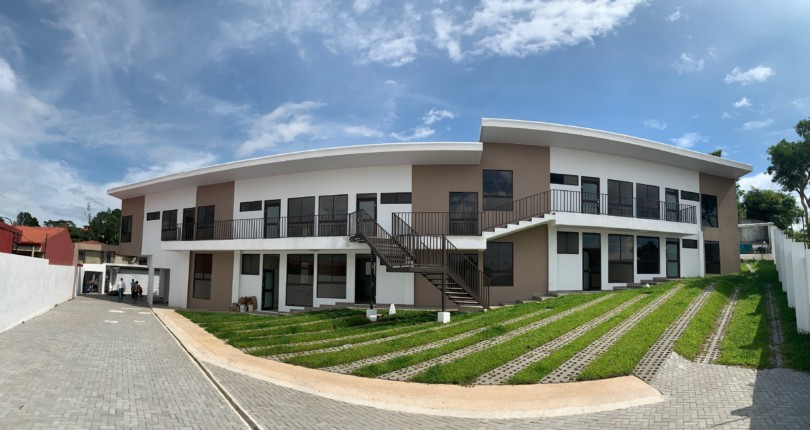 C 3231 Brand new San Gabriel Condominium modern 1 and 2 bedroom apartments with fine finishes in Pozos de Santa Ana next to Guachipelin from $ 109900