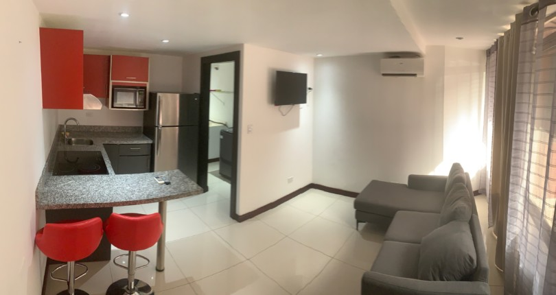 F  2978 Fully furnished apartment with all services included for single person in Rio Oro de Santa Ana