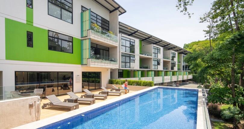 F 3314 Furnished Loft apartment in Arborea Flats Rio Oro Santa Ana next to the Automercado