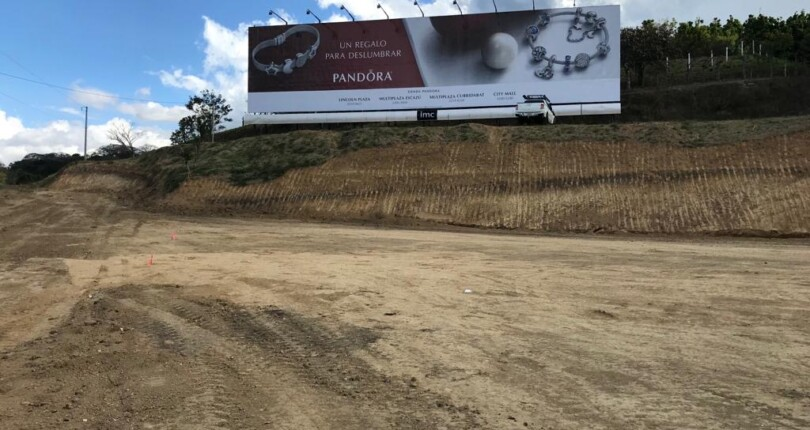 CC 3321  Commercial land in Brazil of Santa Ana in front of Route 27 with an area of 3000 m2 for rent