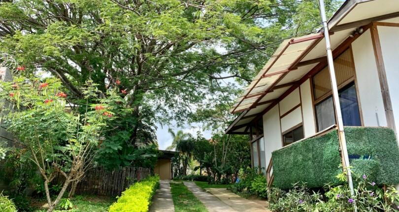 H 3302 One bedroom house with large garden in Guachipelin de Escazu