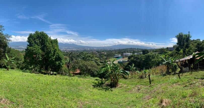 L 1001 Hidden Escazu Land for Sale  Just above Vista de Oro Private, country living in the city