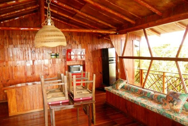 R 770 Cabin. great views,  full of nature, in the mountains of Escazu, only few steps from Colegio Técnico Profesional de Escazu
