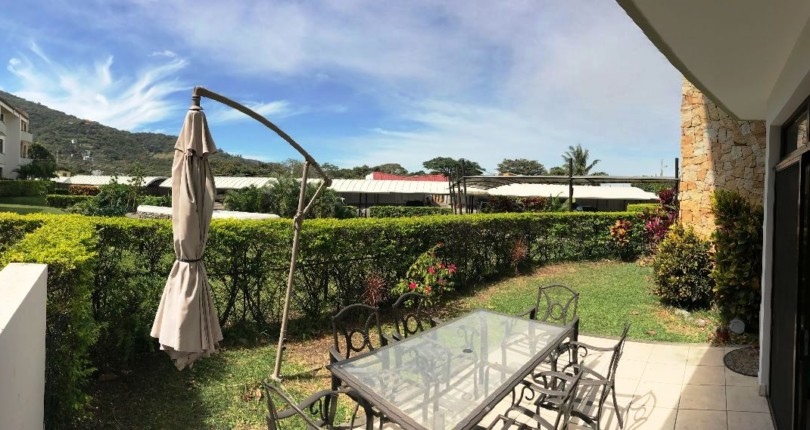 F 2561 FURNISHED SPACIOUS AND MODERN APARTMENT IN FIRST LEVEL WITH APPLIANCES, AC, PRIVATE GARDEN IN AVALON COUNTRY CLUB