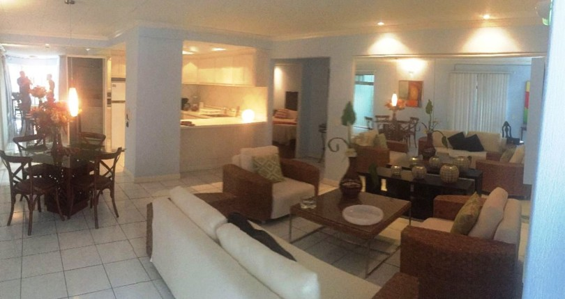 ST 2349 Two bedroom fully furnished apartment single level  apartment in Guachipelin de Escazu