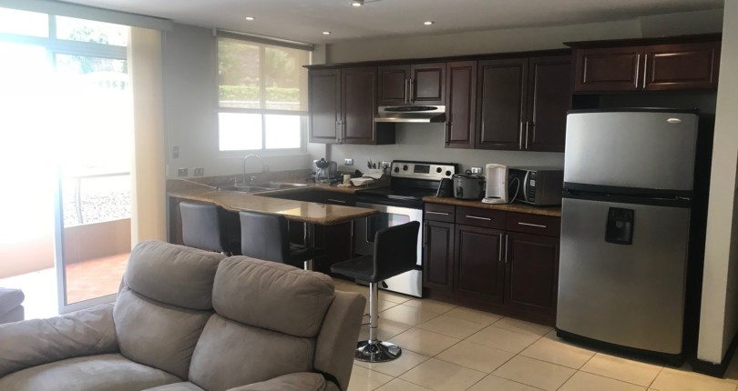 F 2617 A SPACIOUS FURNISHED APARTMENT IN THE VALLE ARRIBA COMPLEX, JUST 800 METERS FROM THE SHOPPING AREA OF SAN RAFAEL DE ESCAZU 235