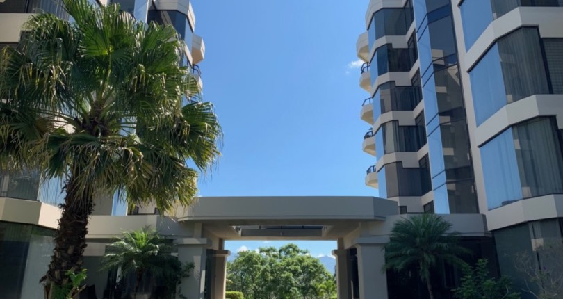 C 3217  in Vistas de Mayorca Apartment  with great  views  a few blocks from the commercial area in Escazu.