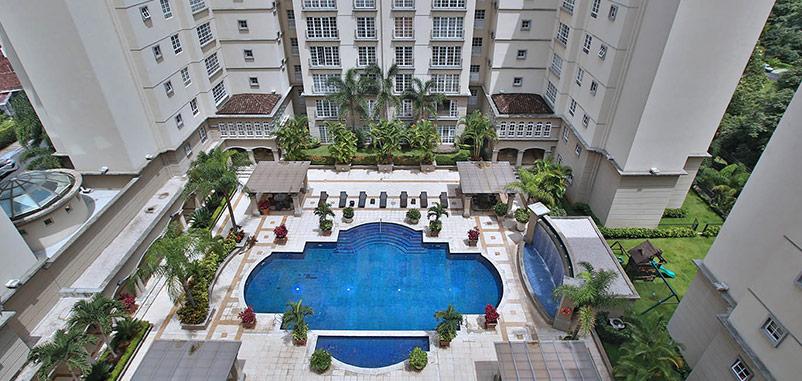 F 3253 CORTIJO LOS LAURELES Luxury 2 bedroom apartment in a vertical condominium in the best area of Escazu
