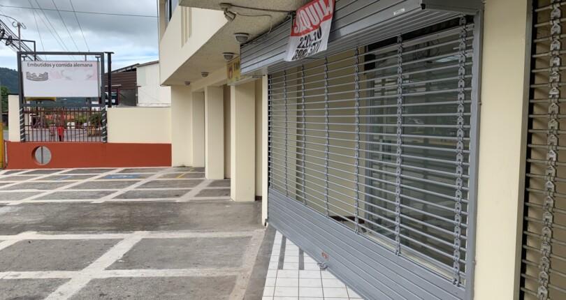 CC 1254 FOR RENT Commercial space on Main Street in San Rafael de Escazu