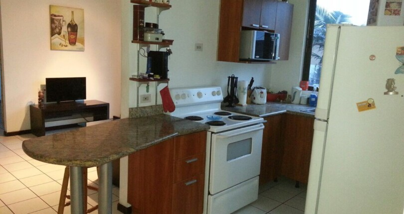 F 2752 A 3 bedroom furnished apartment overlooking the mountains of Escazu, in a complex with swimming pool and security. Adjacent to the medical school, Ucimed. in Sabana Oeste