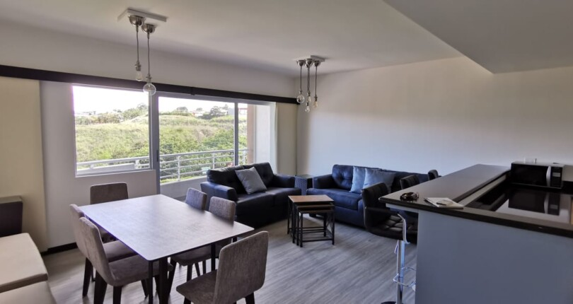 F 3842  Furnished Apartment in Condado del Parque Condominium overlooking the pool and the mountains